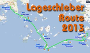 Lageschieber Route 2013